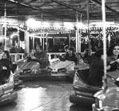 Dodgems at Banbury Fair, Oxfordshire