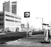 Botley West Way (North), Oxford, looking East, inc. Hartford Motors, 1967