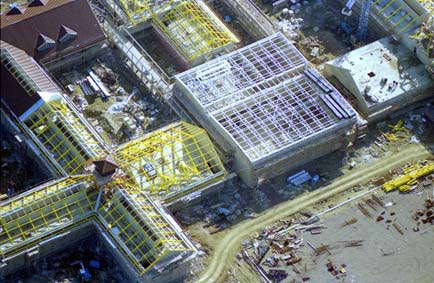 Photoair aerial view of an Oxfordshire Health Authority site, 1995